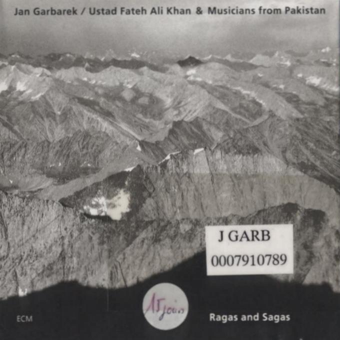 GARBAREK, Jan-Ragas & sagas-FRONT